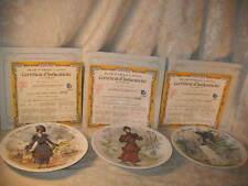 """12 D' Arceau Limoges Women Collector Plate """"Le Femmes Du Siecle"""" Plates Coas"""