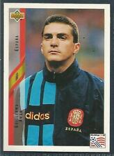 UPPER DECK WORLD CUP USA 1994- #153-ESPANA/SPAIN-GUILLERMO AMOR