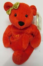 Nancy Kerrigan,Ice Bammer,Brand New 'Beanie' Bear, MINT Tag w/ Tag Protector