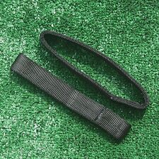 Black Nylon Hang Straps: 8 Inch Pair for PPG Trikes, Quads & Tandem Bar
