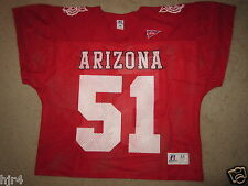 UA Arizona Wildcats #51 Football Game Used Jersey M Medium