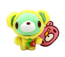 "New 4"" Yellow Outfit Baby Gloomy Bear Mini Plush Doll Toy w/ Ball Chain - Taito"