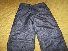 "White Sierra Bronze Snowboard Pants Insulated Doublure Sz. Large  Inseam 27"""