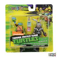Teenage Mutant Ninja Turtles Minimates TRU Wave 5 Fanboy Leonardo & Space Casey