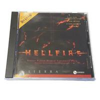 Hellfire Diablo Expansion Pack PC CD-ROM Game 1997 RPG Single Player Sierra