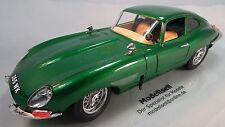 "Jaguar ""E"" Type Cabrio 1961 Modellauto im Maßstab 1:18 von Burago"