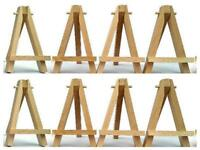 Wooden Mini Easel for Miniature Canvases, Signs, Photos Display Stand L