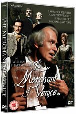 THE MERCHANT OF VENICE. Laurence Olivier. New sealed DVD.