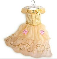 Belle Girls Fancy Dress Disney Beauty and the Beast Kid Child Costume XMAS GIFT