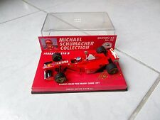 Ferrari F310B Michael Schumacher Magny Cours France 1997 #5 Minichamps 1/43 F1