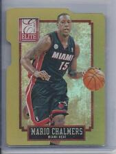 1/1 MARIO CHALMERS 2013-14 ELITE STATUS GOLD DIE CUT #D 15/24 HIS JERSEY #15!!!