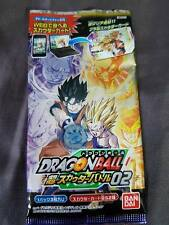 Carte Dragon Ball Z DBZ Scouter Battle Part 2 #Booster BANDAI 2016 MADE IN JAPAN
