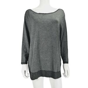 Debenhams Grey Ladies Jumper Sweater UK 22 Long Sleeve
