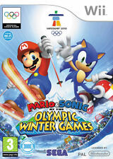 Mario and Sonic at the Olympic Winter Games ~ Wii (in Great Condition)