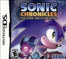 Sonic Chronicles: The Dark Brotherhood (Nintendo DS, 2008) game only