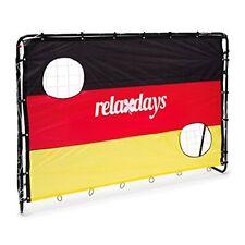 Relaxdays – Balón de Fútbol – Portería con Alemania dimensiones 15