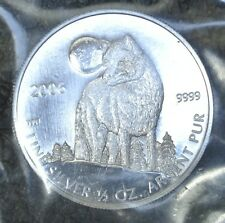 2006 CANADA $1 PURE SILVER 1/2 oz TIMBER WOLF - .9999 - Nice - RCM SEALED