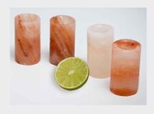 Himalayan Salt Shot Glass Tequila Shot Glass Organic Food Grade Salt Glass. One.