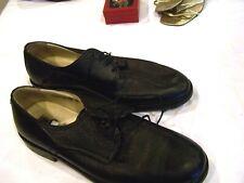 Vito Rufolo black leather shoes, mens size 12 M