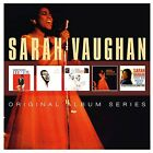 SARAH VAUGHAN - ORIGINAL ALBUM SERIES 5 CD NEU