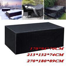 Waterproof Patio Garden Furniture Cover Outdoor Large Rattan Table Protector UK