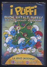 I PUFFI Buon Natale Puffi! E Altre grandi Avventure - nuovo sigillato DVD 607