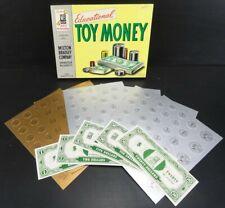 Vintage Play Educational Toy Money Milton Bradley No 9315 Original Box Un-Played