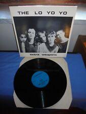 """The Lo Yo Yo """"Extra Weapons"""" LP FLOPPY UK 1985"""