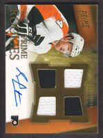 2011-12 Panini Prime Hockey #146 Sean Couturier RC Jersey Auto /199 Flyers