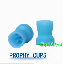 500pcs Dental Disposable Prophy Cups Snap-on type Plain polishing cup