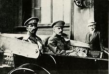 U.R.S.S., Le général Lavr Kornilov et Savinkof Vintage silver print, tirage post