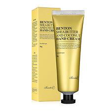 Benton Shea Butter and Coconut Hand Cream 50g | Intensive Moisturing - UK Seller