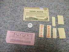 Champ decals HO HC-423 Quaker Sugar covered hopper RARE    E101