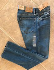 Polo Ralph Lauren Jeans Mens 36 x 32 Hampton Relaxed Straight Medium Wash NWT