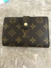 Authentic LOUIS VUITTON Monogram French Purse wallet pre-owned