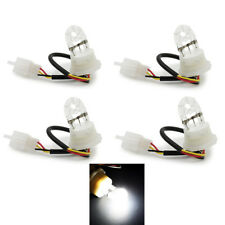 4X White HID Hideaway Bulbs Flash Strobe Replacement Lamp Bulbs Tube Light 12V