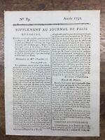 Docteur Dorez 1791 Villenauxe Tonneins Saint Domingue Haïti Cancer Sein Médecine