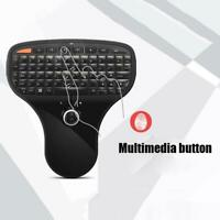 N5901 Mini Wireless Multimedia Remote Keyboard Air Mouse with Trackball