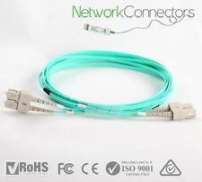 SC-SC OM4 Duplex Fibre Optic Cable (50M)