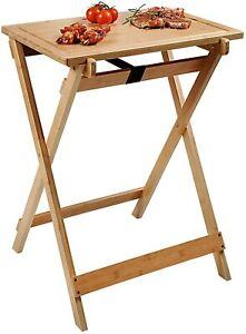 Kesper Holz BBQ Klapptisch Beistelltisch Grilltisch Gartentisch, 1133-8381427