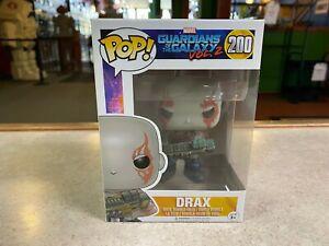 Funko POP! NIB Marvel Guardians of the Galaxy Vol. 2 DRAX #200