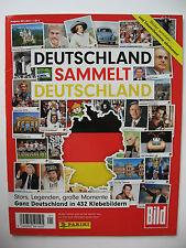 """Juststickit/Panini Sammelbilderalbum """"Deutschland sammelt Deutschland"""", komplett"""