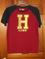 HARRY POTTER HOGWARTS ALUMNI Red T-Shirt ADULT sz Large