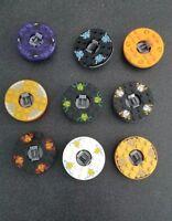LEGO Ninjago Spinners Lot of 9 Spinners for Ninjago Minifigures