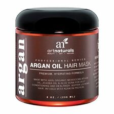 Argan Oil Hair Mask Deep Conditioner Treatment with Jojoba Aloe Vera Green Tea