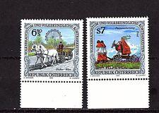 AUSTRIA - FOLKLORE - 1752-3 SET OF 2 - FINE MINE NH - 1998