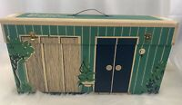 1962 Vintage Cardboard Barbie Dream House Doll Original Furniture Accessories