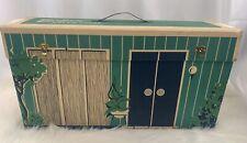 1962 Vintage Cardboard Barbie Dream House Doll Original Furniture Accessories