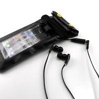 Housse étanche + prise écouteurs Pour iPhone 3G / Pour iPhone 4 / 4S / 5 Noir