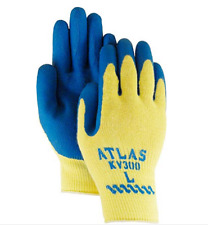 LOT OF 10 Showa Best Glove Atlas KV300 XL Latex Coated Made With Kevlar Gloves